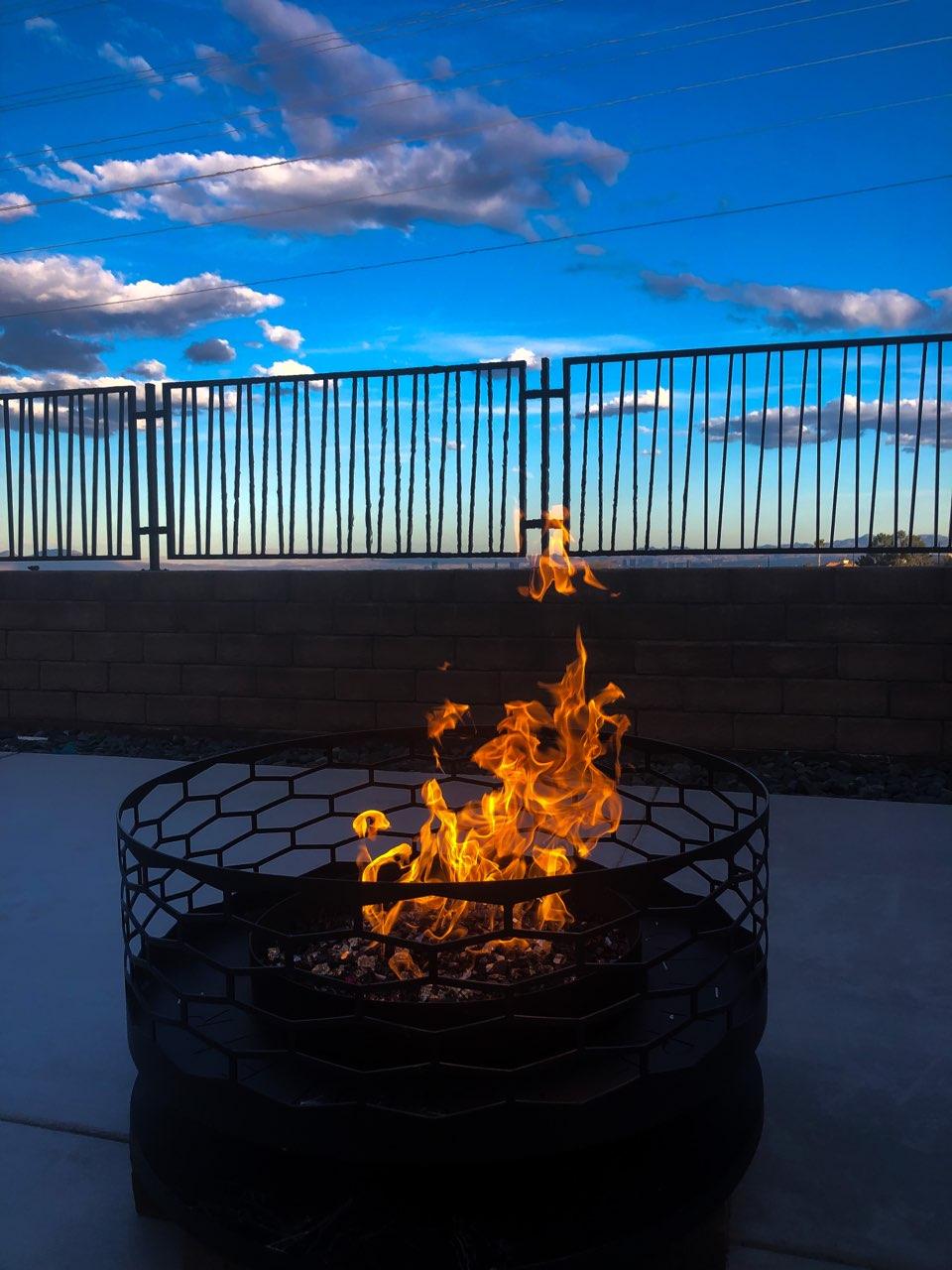 Las Vegas Fire Pit Installer